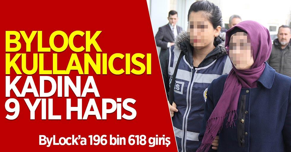 Samsun'da ByLock kullanıcısı kadına 9 yıl hapis