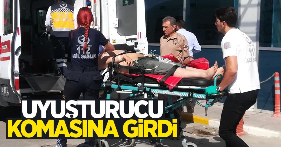 Samsun'da uyuşturucu koması