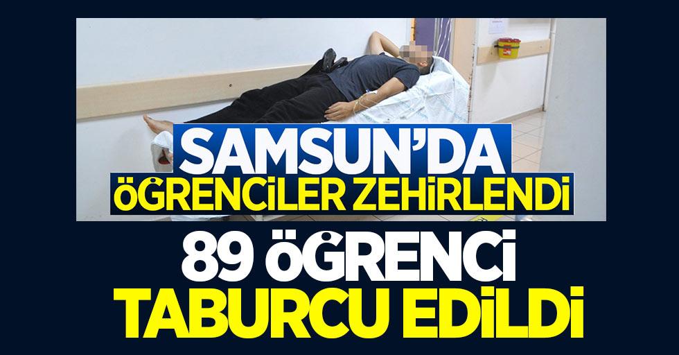 Samsun'da zehirlenen 89 öğrenci taburcu oldu