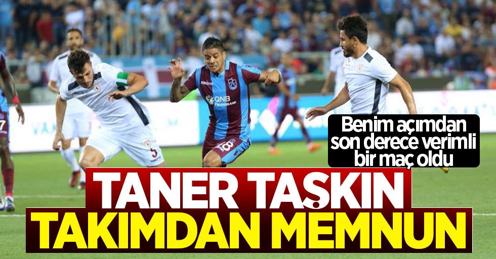 Samsunspor teknik direktörü Taşkın, takımından memnun