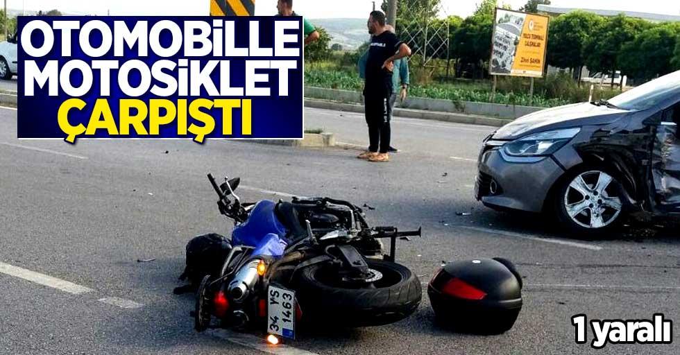 Samsun'da kaza! 1 yaralı