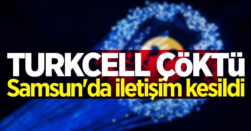 Turkcell neden çekmiyor? Samsun#039;da iletişim kesildi!