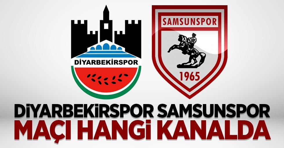 Diyarbekirspor Samsunspor maçı hangi kanalda saat kaçta?