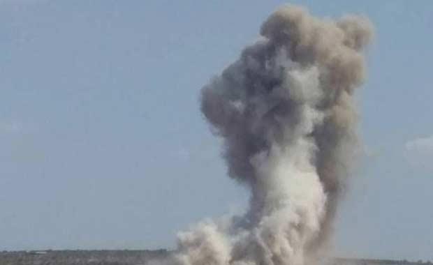 Rusya: ABD Suriye'yi bombaladı