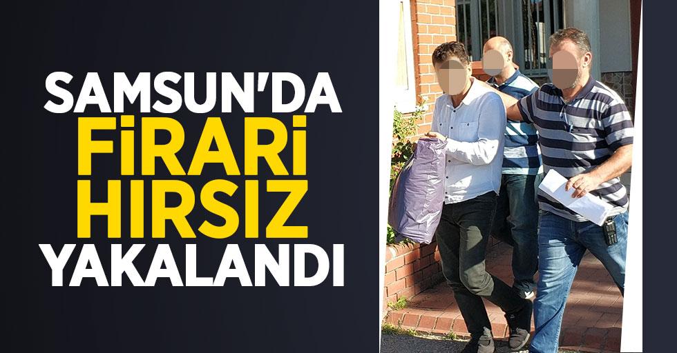 Samsun'da firari hırsız yakalandı