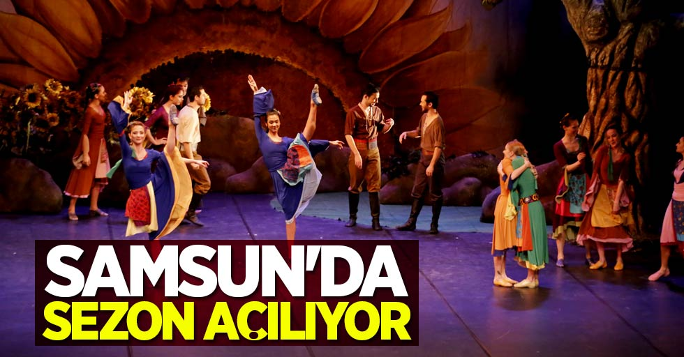 Samsun'da sezon açılıyor