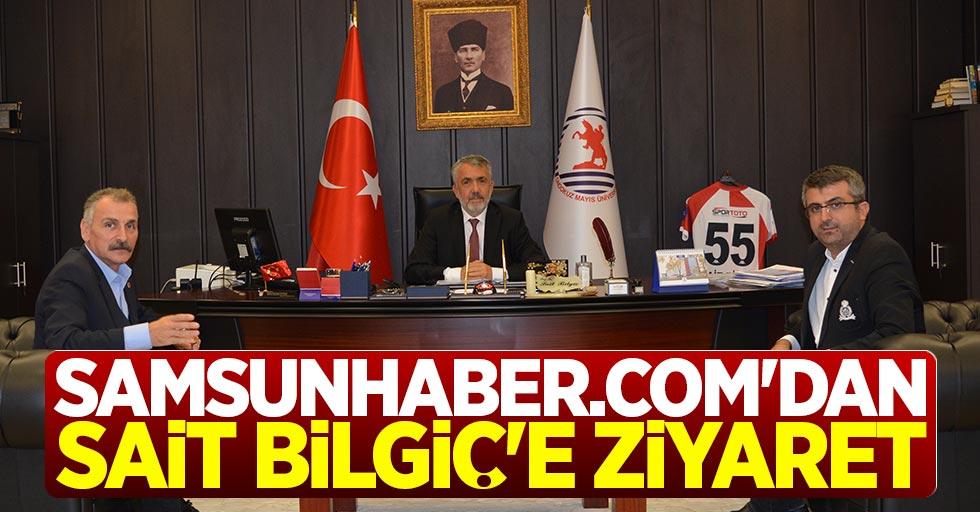 Samsunhaber.com'dan Sait Bilgiç'e ziyaret