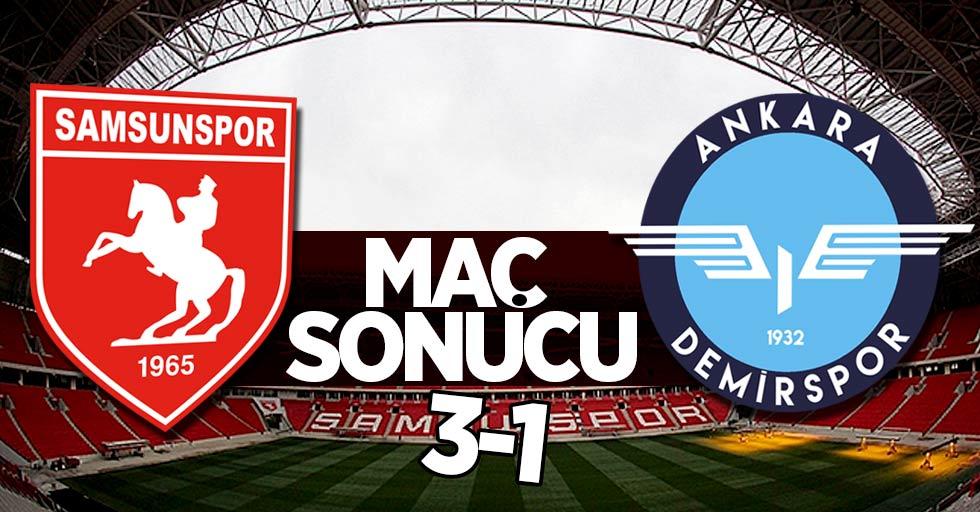 Samsunspor 3-1 Ankara Demirspor