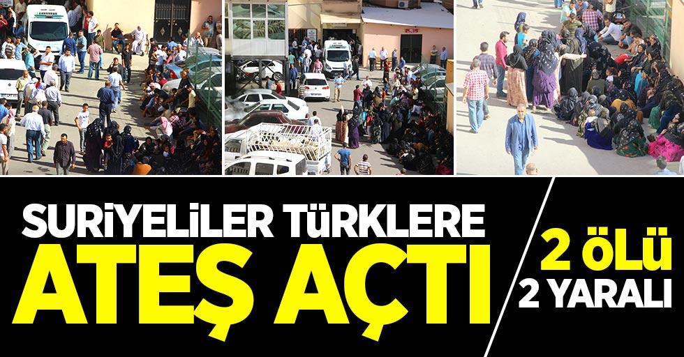 Suriyeliler Türklere ateş açtı: 2 ölü, 2 yaralı