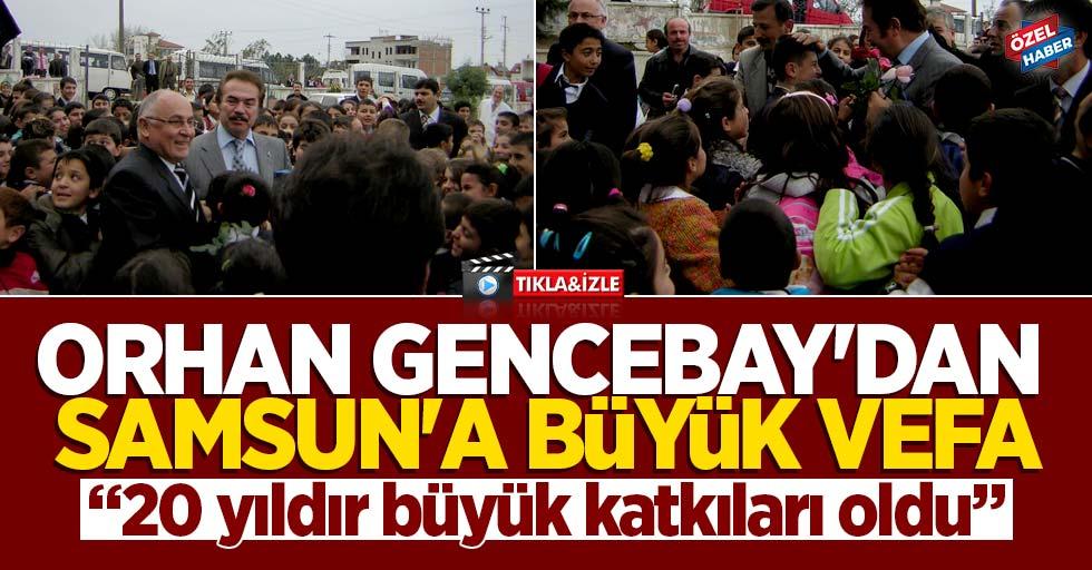 """Orhan Gencebay'dan Samsun'a büyük vefa """"20 yıldır büyük katkıları oldu"""""""