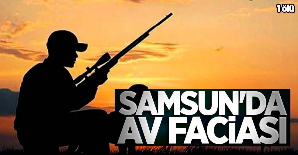Samsun'da av kazası! 1 ölü