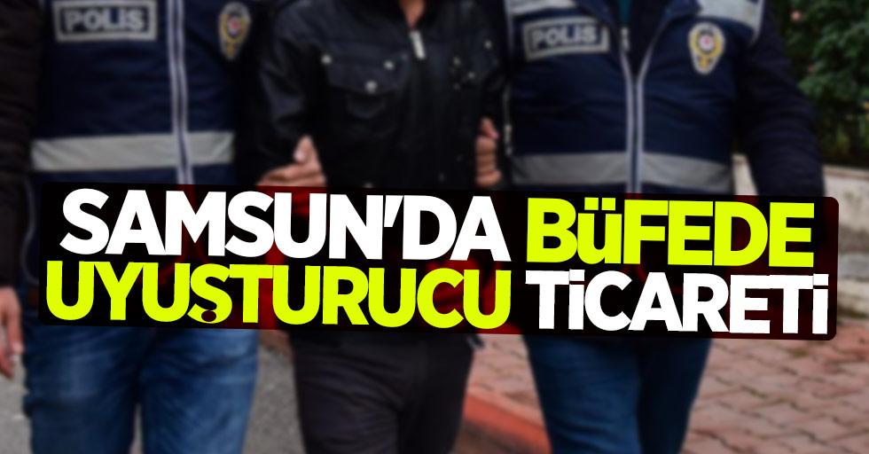 Samsun'da büfede uyuşturucu ticareti! 1 gözaltı