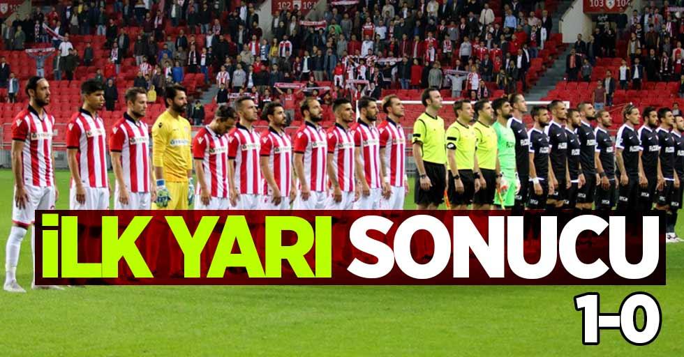 Samsunspor 1-0 Kastamonuspor (İlk yarı)