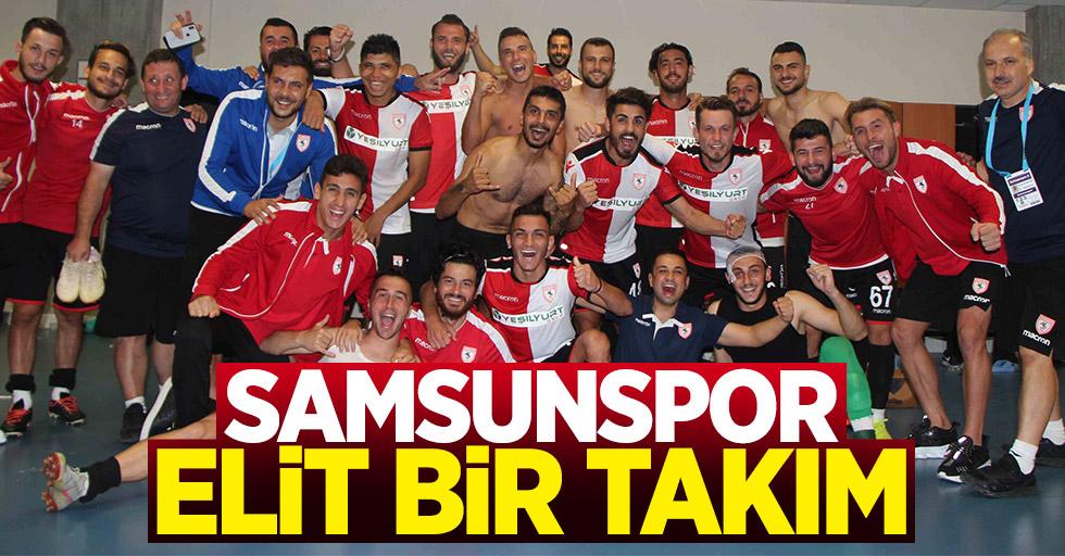 Samsunspor elit bir takım