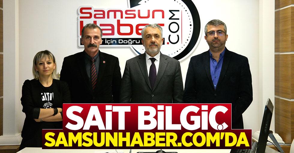 Sait Bilgiç'ten Samsunhaber.com'a ziyaret