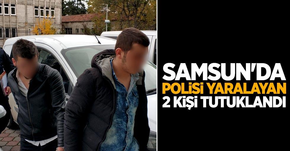Samsun'da polisi yaralayan 2 kişi tutuklandı