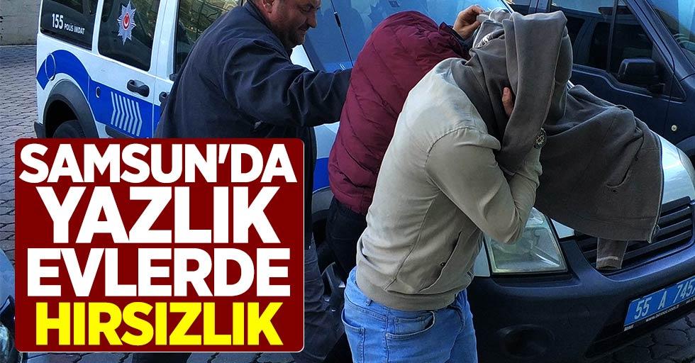 Samsun'da yazlık evlerde hırsızlık: 2 tutuklama