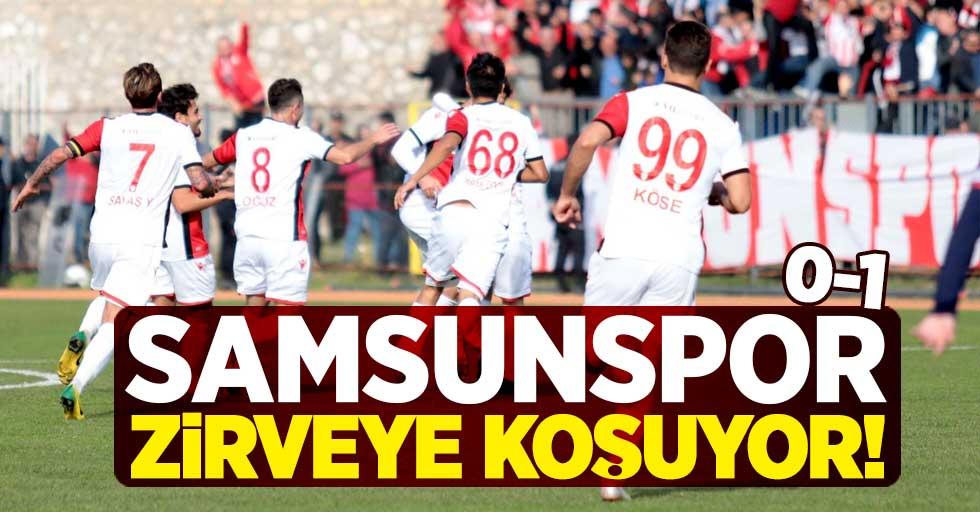 Samsunspor zirveye koşuyor 0-1