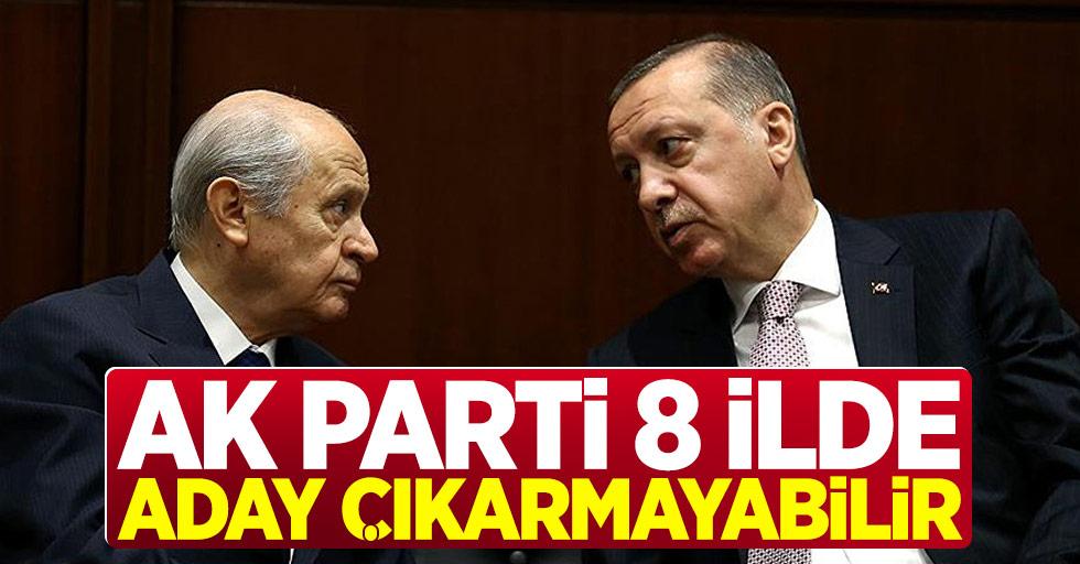 A Haber: AK Parti 8 İlde Aday Çıkarmayabilir!