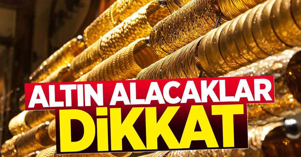 Altın Fiyatları Düşüyor, Dolar Yükseliyor