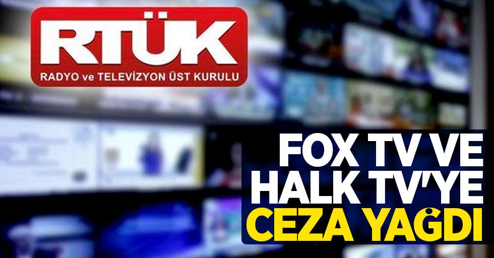 FOX TV ve Halk TV'ye ceza yağdı