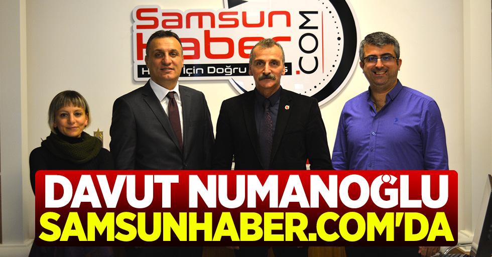 MHP Atakum Aday Adayı Davut Numanoğlu Samsunhaber.com'da
