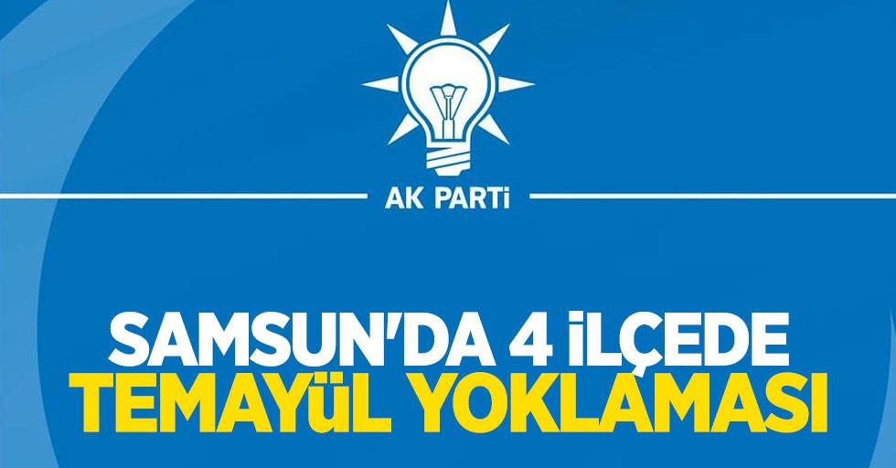 Samsun'da 4 ilçede temayül yoklaması yapıldı