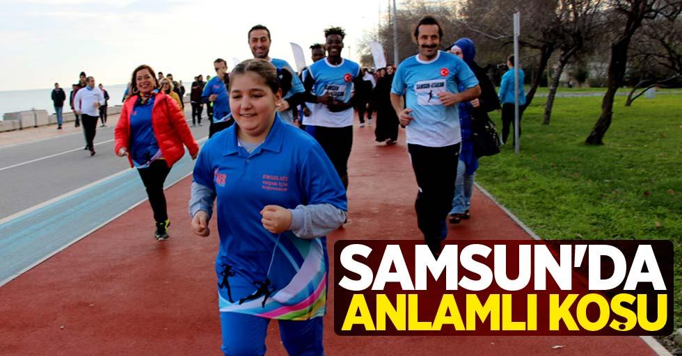 Samsun'da anlamlı koşu