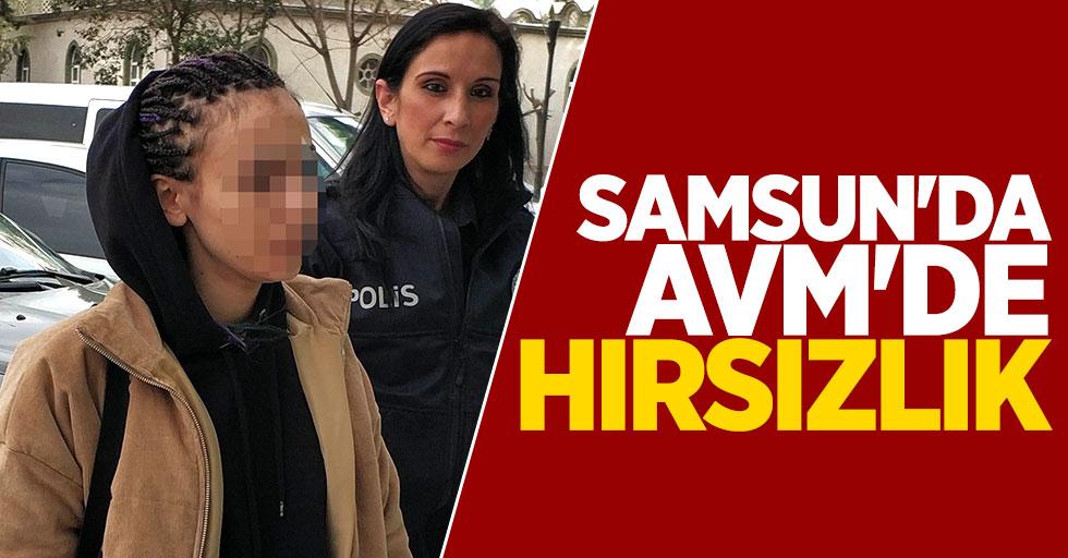 Samsun'da AVM'de hırsızlık: 2 gözaltı