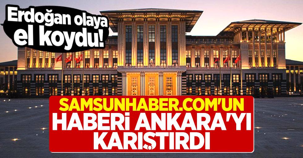 Samsunhaber.com#039;un Haberi Ankara#039;yı Karıştırdı