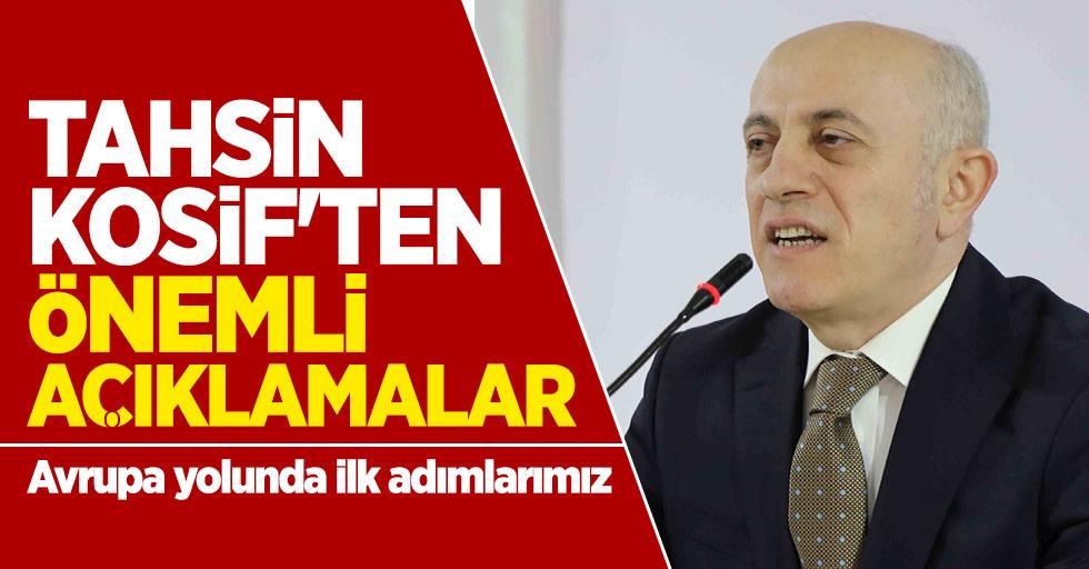Yılport Samsunspor Başkan Vekili Kosif'ten önemli açıklamalar