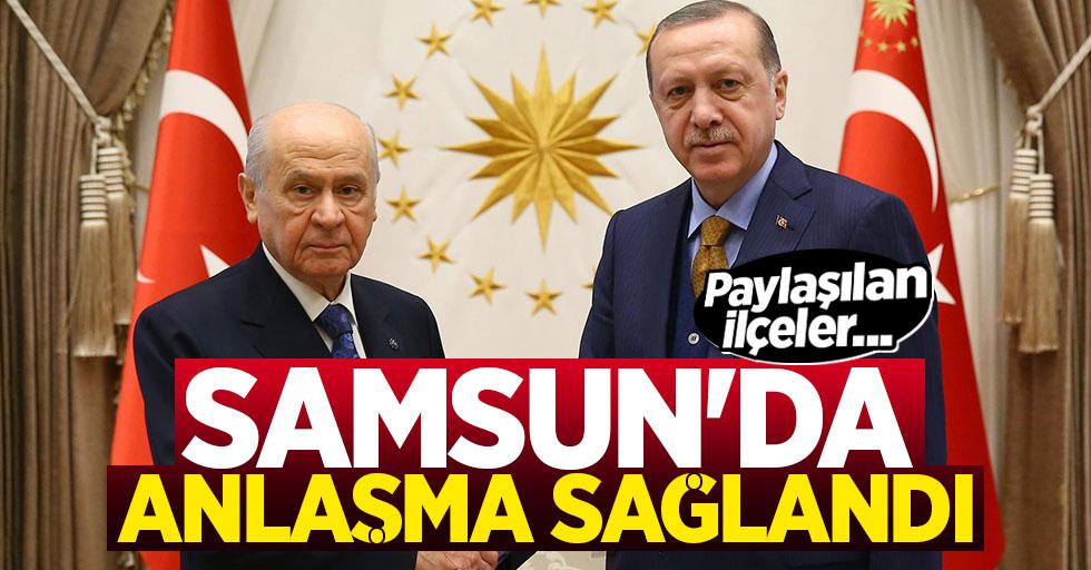 AK Parti ve MHP Samsun'da Anlaşma Sağladı