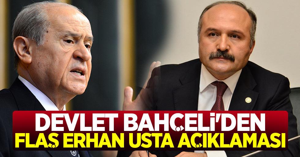 Devlet Bahçeli'den Flaş Erhan Usta Açıklaması!