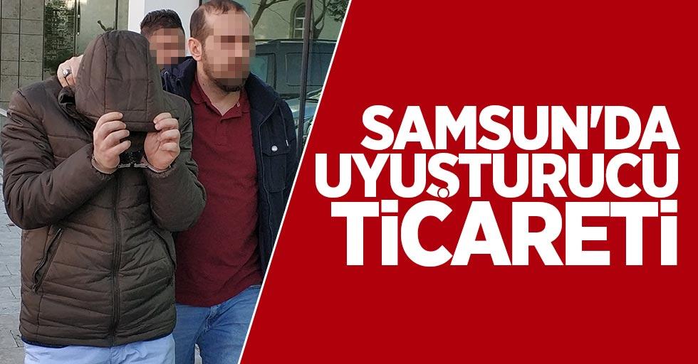 Samsun'da uyuşturucu ticareti: 1 gözaltı