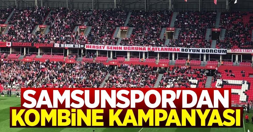 Yılport Samsunspor'dan kombine kampanyası