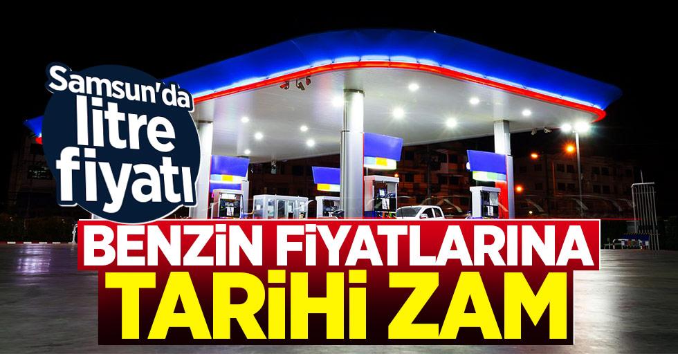 Benzin Fiyatlarına Tarihi Zam! Samsun'da litre fiyatı...