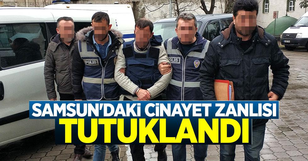 Samsun'daki cinayet zanlısı tutuklandı