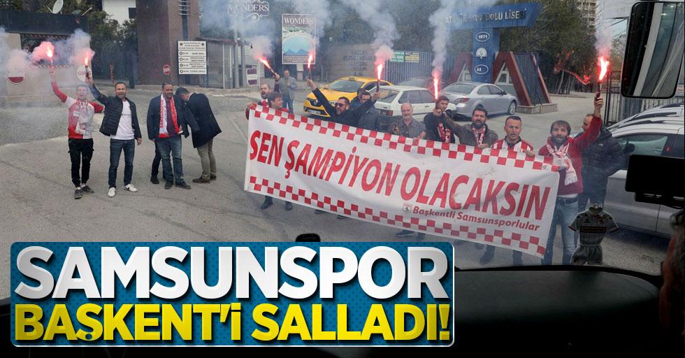 Samsunspor Başkent'i salladı