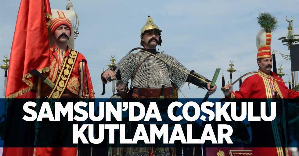 Samsun'da Coşkulu Kutlamalar