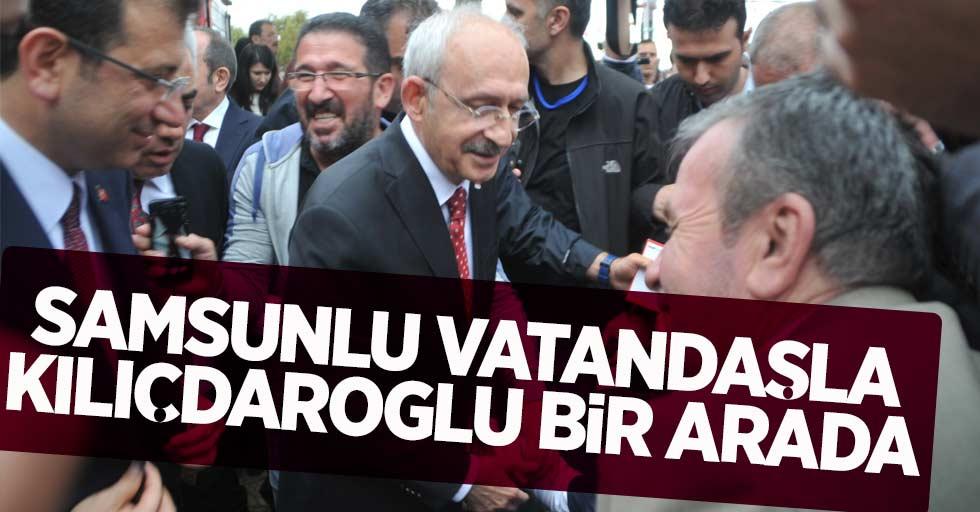 Samsunlu Vatandaşla Kılıçdaroğlu Bir Arada