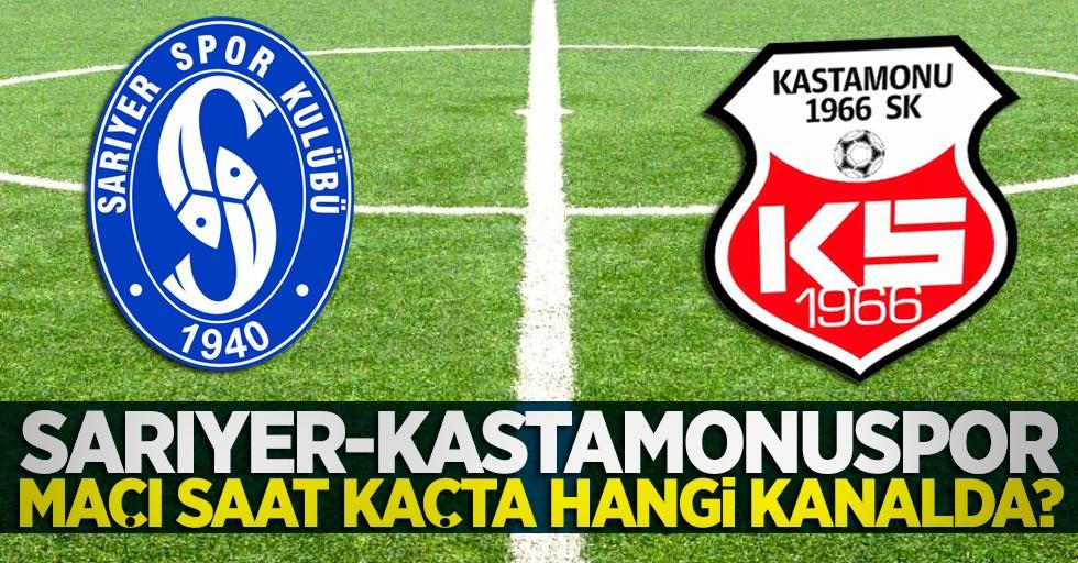 Sarıyer-Kastamonuspor maçı saat kaçta hangi kanalda?