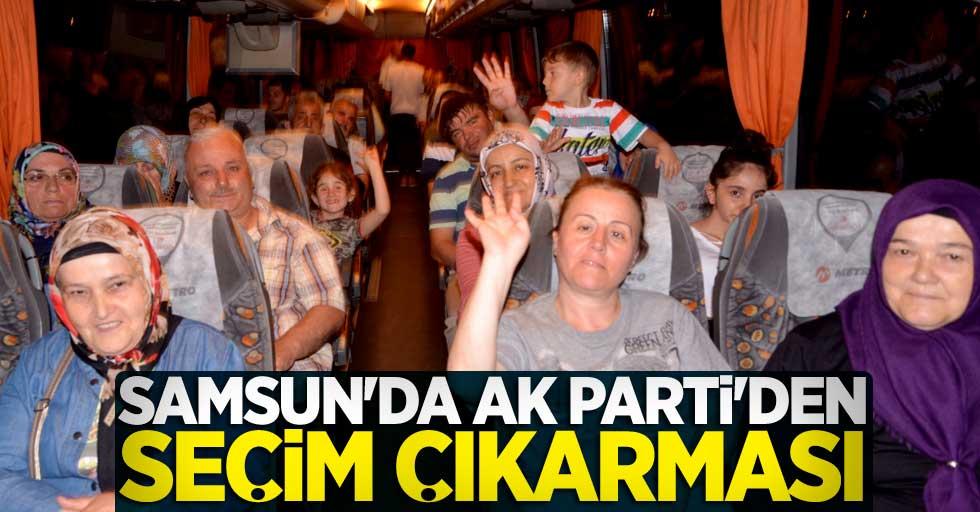 Samsun'da AK Parti'den seçim çıkarması