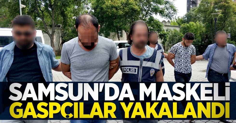 Samsun'da maske taktılar akrabaları olan yaşlı çifti gasp ettiler