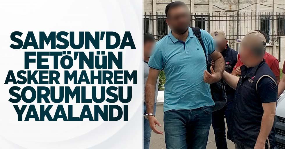 Samsun'da FETÖ'nün asker mahrem sorumlusu yakalandı