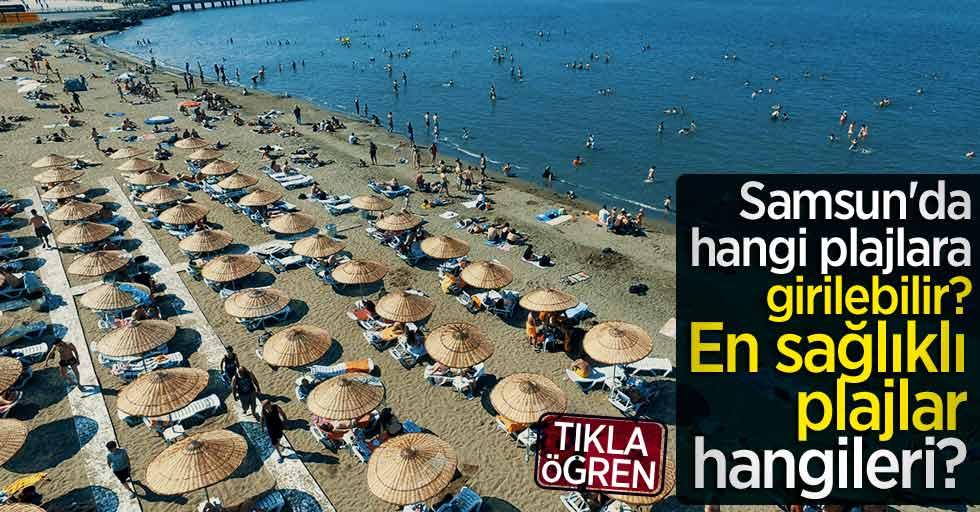 Samsun'da girilebilecek plajlar | Samsun'un en sağlıklı plajı hangisi