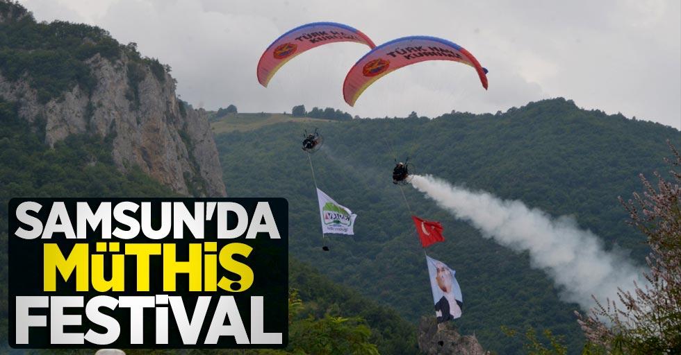 Samsun'da müthiş festival