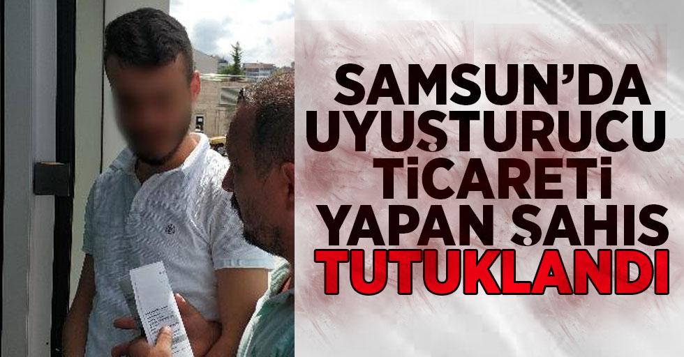 Samsun'da Uyuşturucu Ticareti Yapan Şahıs Tutuklandı