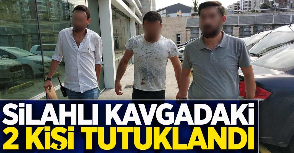 Silahlı kavgadaki 2 kişi tutuklandı