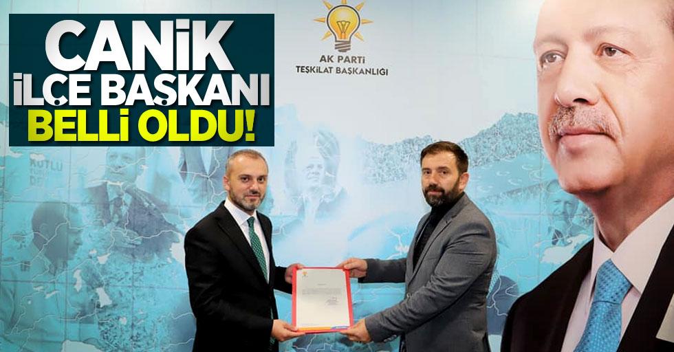 AK Parti Canik İlçe Başkanı belli oldu!Yeni başkan Mahmut Gençay