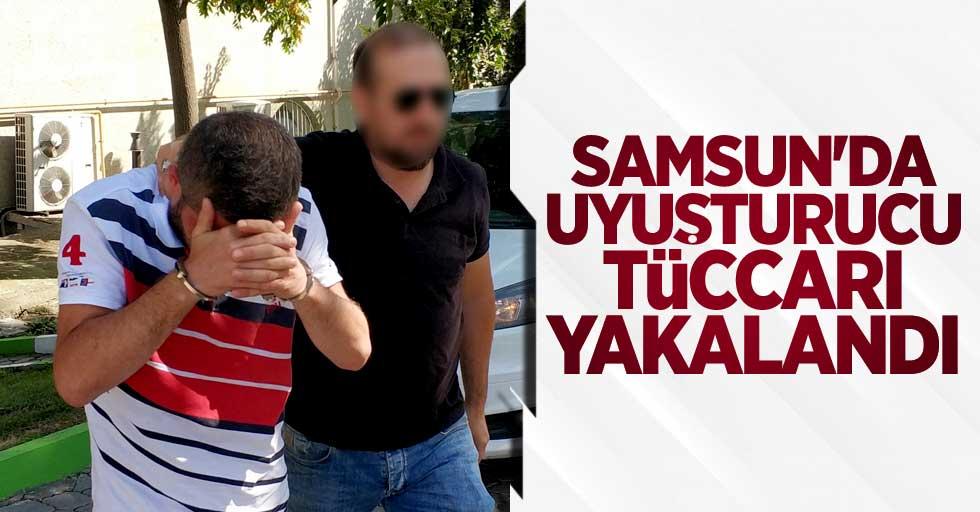 Samsun'da uyuşturucu tüccarı yakalandı